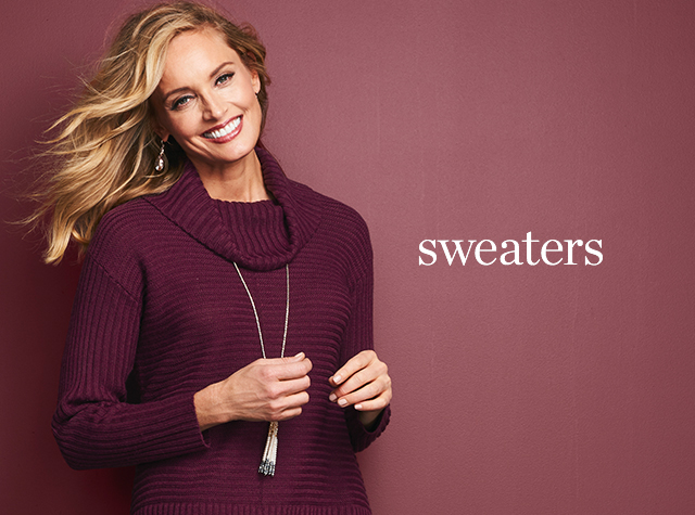 Christopher & Banks® | cj banks® Misses, Petite and Plus Size Women's Clothing Category - Sweaters