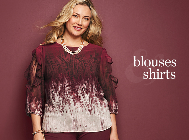 Christopher & Banks® | cj banks® Misses, Petite and Plus Size Women's Clothing Category - Women: Blouses and Shirts