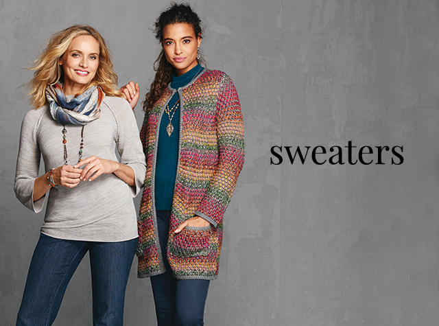 Christopher & Banks® | cj banks® Misses, Petite and Plus-Size Women's Clothing Category - Missy and Women's Sweaters.