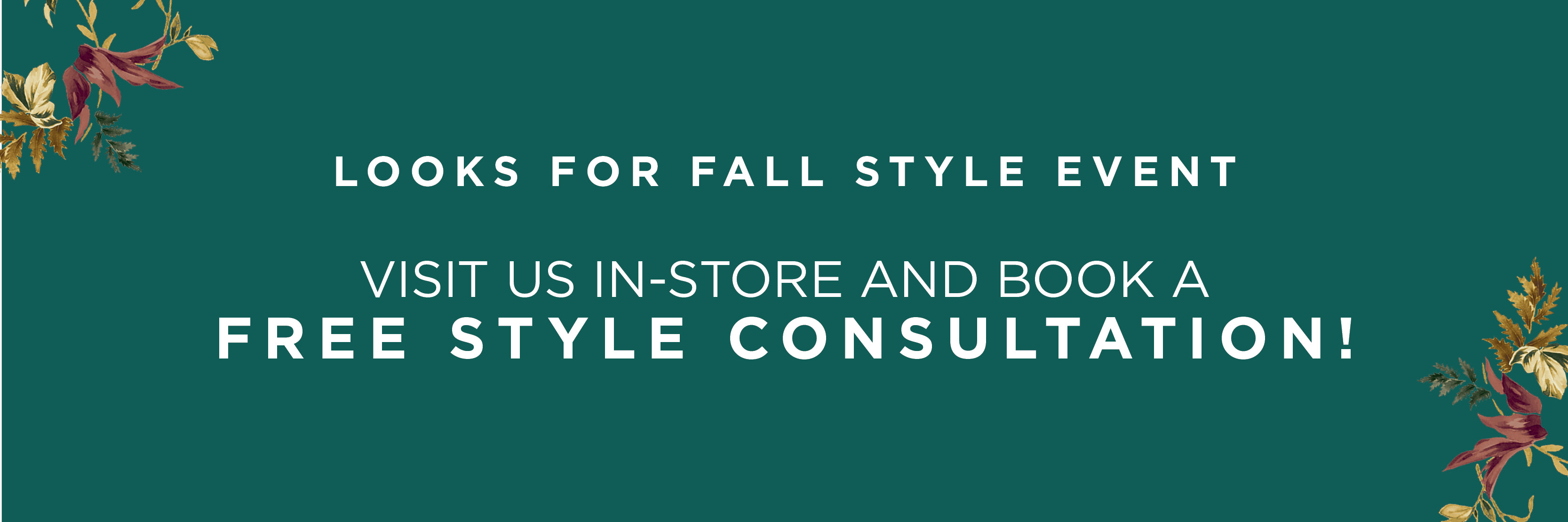 Book a Stylist Appointment Today! Find a Store!