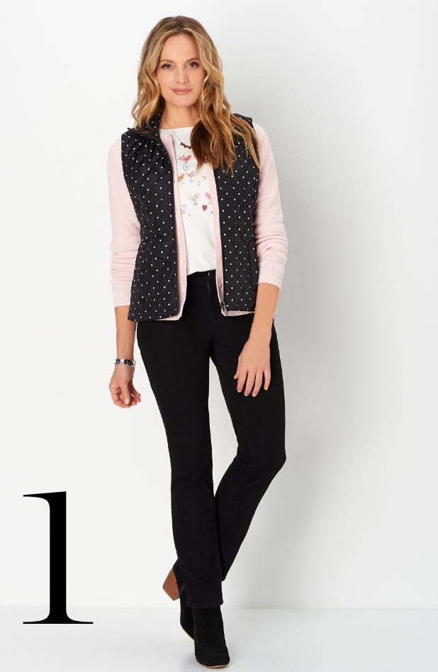 Missy/Women Collections - Ways-to-Wear, January: #03 Reversible Plaid Vest, 01