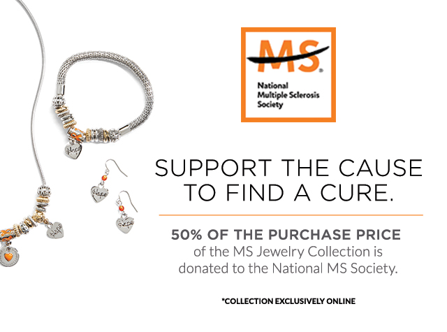 Christopher & Banks® | cj banks® Misses, Petite and Plus Size Women's Clothing Category - MS® - National Multiple Sclerosis Society - Support the cause to find a cure. 50% of the purchase price of the MS Jewelry Collection is donated to the National MS Society. *Collection Exclusively Online.