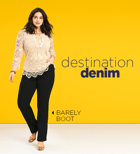 Destination Denim: Barely Boot
