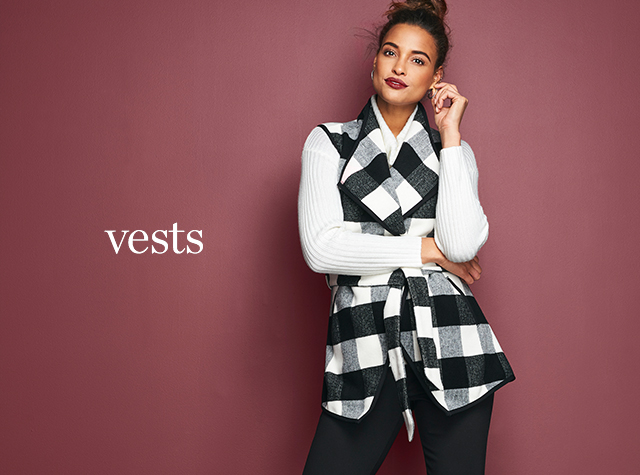 Christopher & Banks® | cj banks® Misses, Petite and Plus Size Women's Clothing Category - Missy | Women Vests