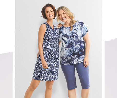 Two Women with Ultimate Style
