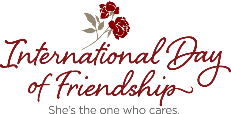 """The International Day of Friendship: """"She's the one who cares""""."""
