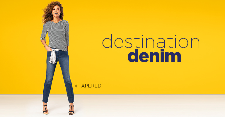 Destination Denim: Tapered