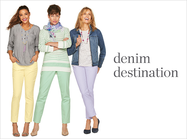 Clothing Category - Denim Destination