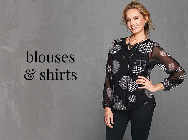 Christopher & Banks® | cj banks® Misses, Petite and Plus Size Women's Clothing Category - Blouses and Shirts - P