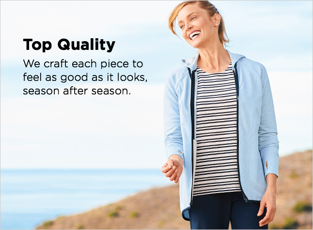 Clothing Category - Top Quality - We craft each piece to feel as good as it looks, season after season.
