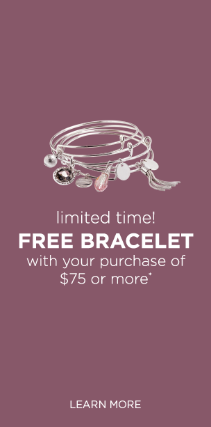 Limited Time! Free Bracelet with your purchase of $75 or more!* Learn More.