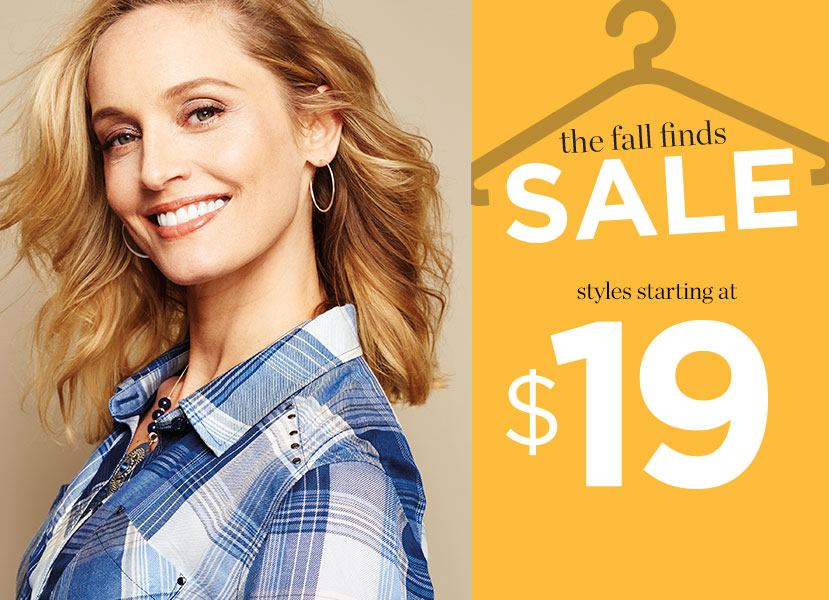 fall finds sale - styles starting at $19