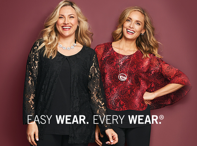 Christopher & Banks® | cj banks® Misses, Petite and Plus Size Women's Clothing Category - Easy Wear. Every Wear.®