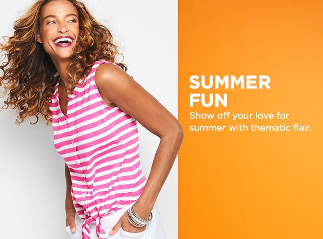 Collection: Summer Fun - Show off your love for summer with thematic flair.