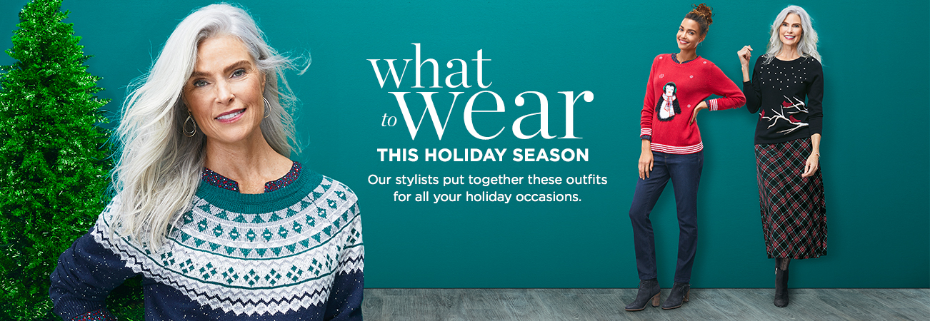 What to Wear This Holiday Season: Our Stylists Put Together These Outfits for All Your Holiday Occasions.