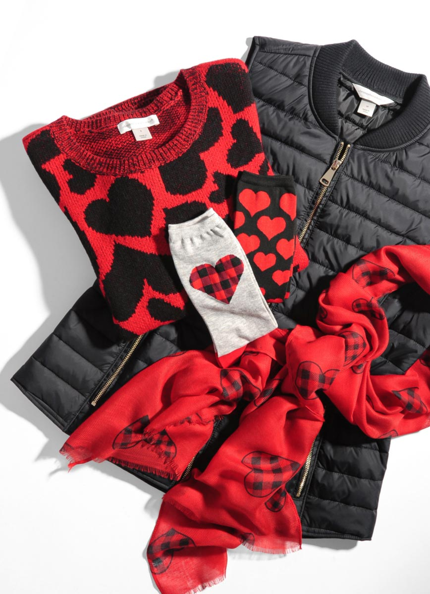 The Christopher & Banks Valentine's Day Collection.