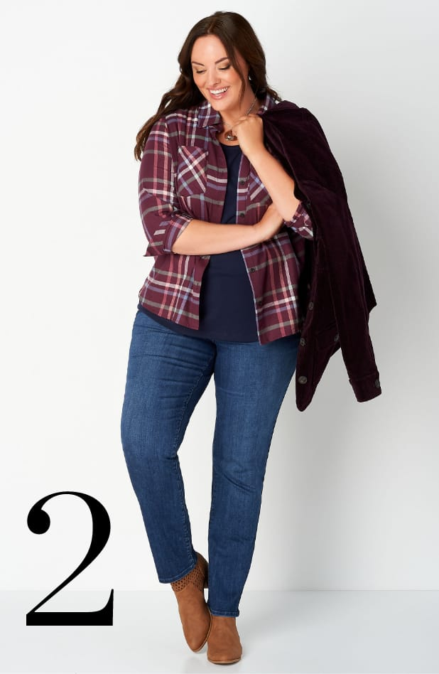 Ways-to-Wear our Classic Plaid Shirt
