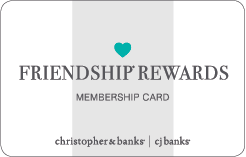 Friendship Rewards Membership Card