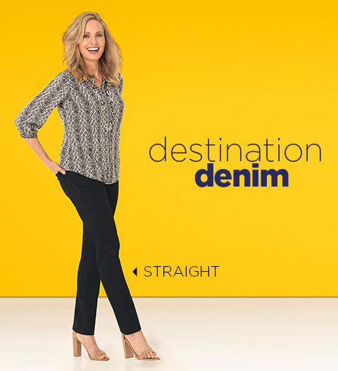 Destination Denim: Straight