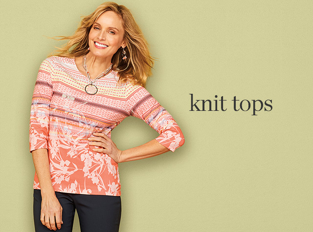 Clothing Category - Knit Tops