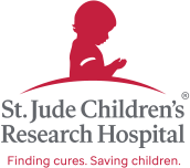 Logo: St. Jude Children's Research Hospital: Finding cures, Saving children.®