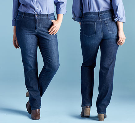 Christopher & Banks   cjbanks Missy, Petite and Women's Apparel Straight Fit