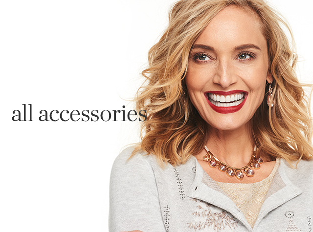Christopher & Banks® | cj banks® Misses, Petite and Plus Size Women's Clothing Category - All Accessories