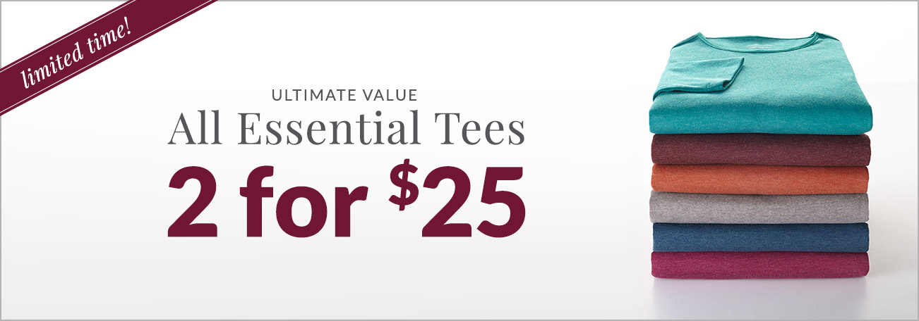 Christopher & Banks Essential Tees Collection