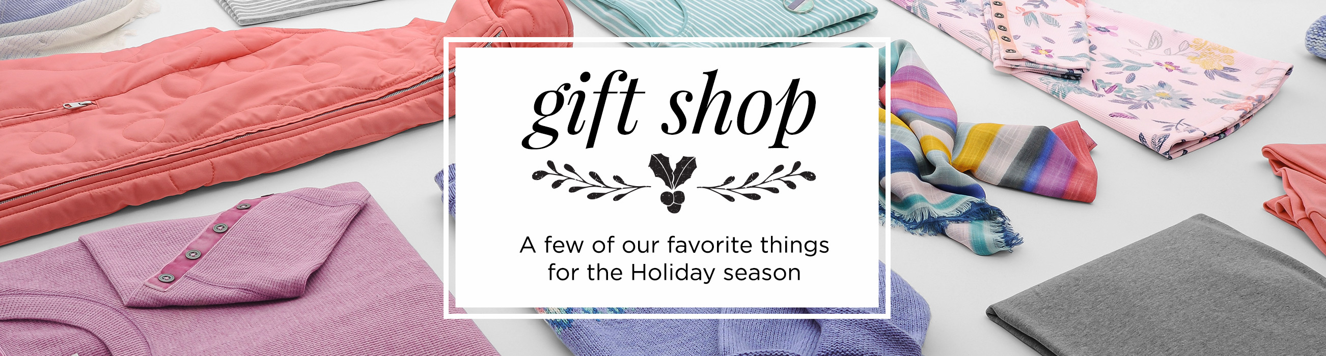 Gift Shop: A Few of Our Favorite Things for the Holiday Season