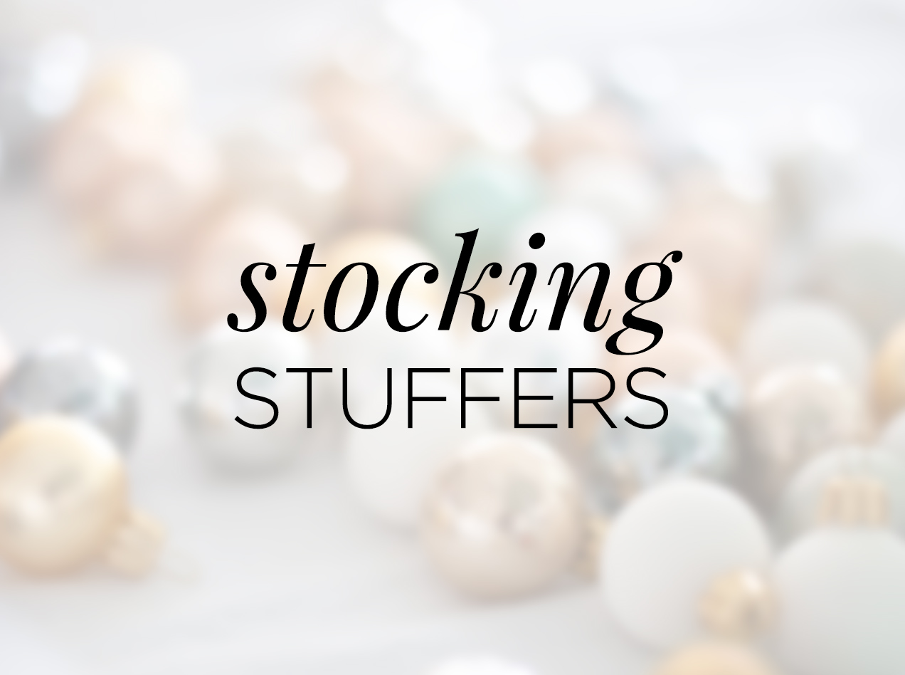 Gift Shop: Stocking Stuffers