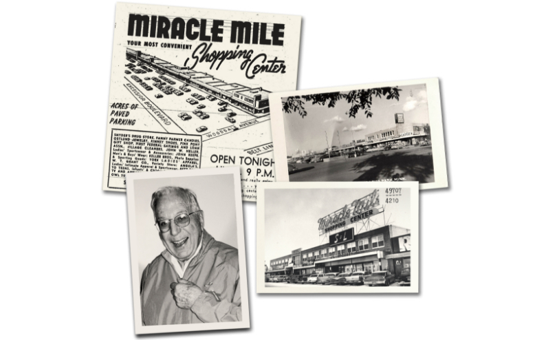 [Our founder and location at Miracle Mile]
