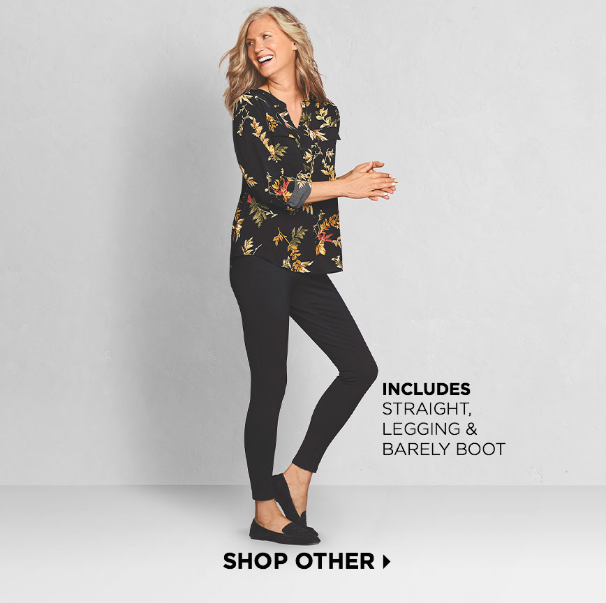 "Shop Other (Includes ""Straight"", ""Legging"" & ""Barely Boot"")"