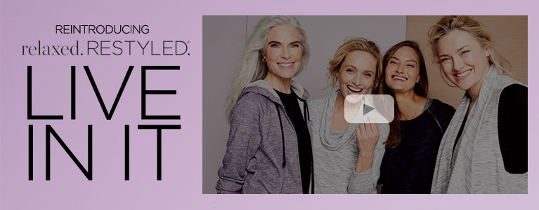 Relaxed Restyled - Live in it - Category Banner Video - Christopher & Banks® | cj banks® Missy, Petite and Women's Apparel - Relaxed Restyled