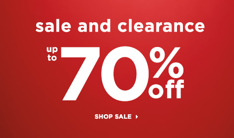 Sale and Clearance: Up To 70% Off! Shop the Sale!