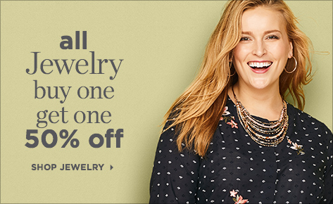 All Jewelry: Buy One, Get One for 50% Off! Shop Jewelry.
