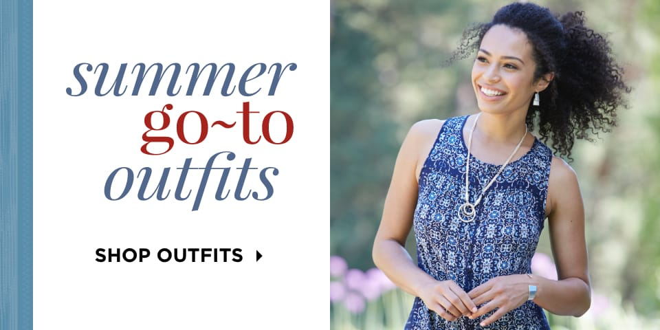 Summer Go-To Outfits. Shop Outfits.