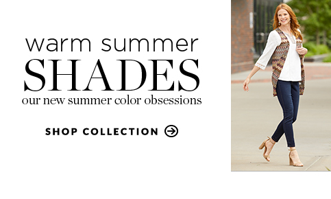Warm Summer Shades: Our new summer color obsessions. Shop collection.