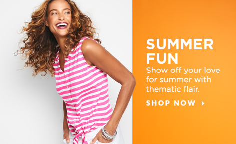 Summer Fun: Show off your love for summer with thematic flair. Shop Now.