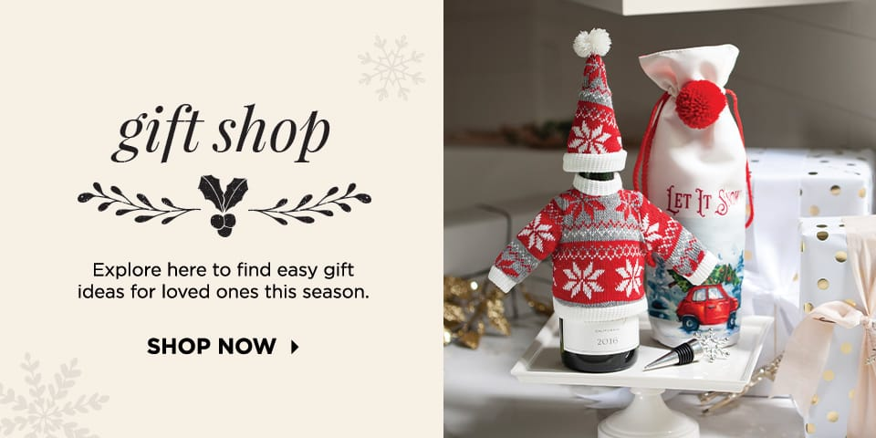 Gift Shop: Explore here to find easy gift ideas for loved ones this season. Shop Now.