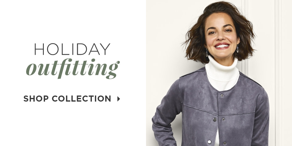 Holiday Outfitting. Shop Collection.