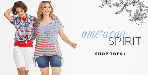 American Spirit. Shop Tops.