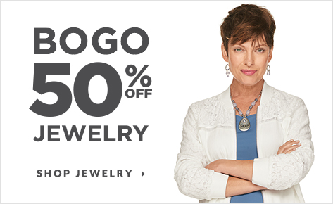BOGO 50% Off Jewelry. Shop Jewlery.