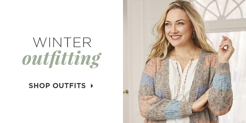 Winter Outfitting. Shop Outfits.