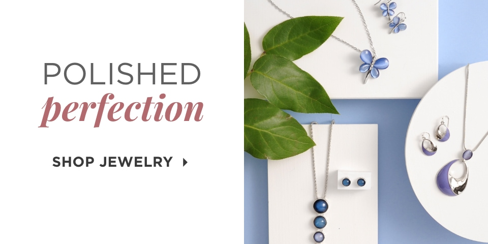 Polished Perfection. Shop Jewelry.