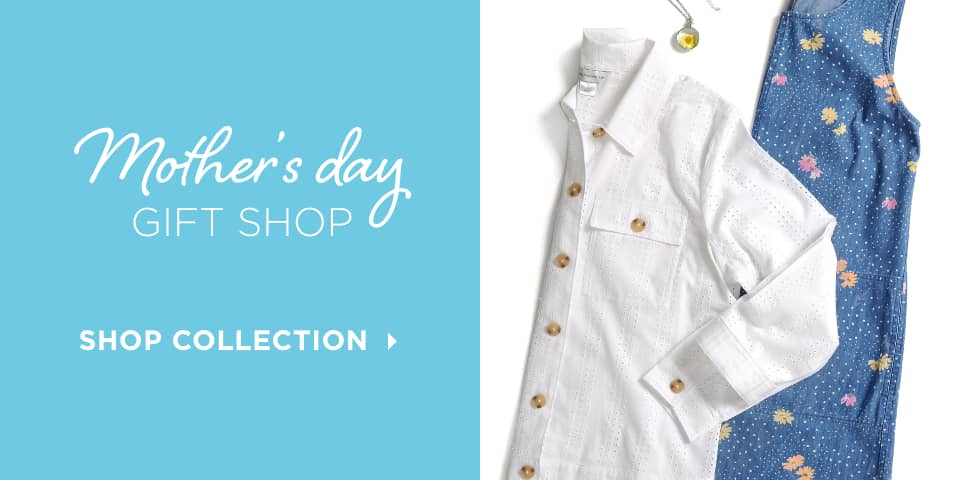 Mother's Day Gift Shop. Shop Collection.
