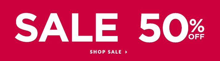 Sale: 50% off! Shop Sale.