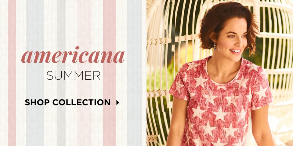 Americana Summer. Shop Collection
