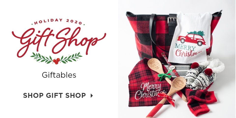 Holiday 2020 Gift Shop: Giftables. Shop Gift Shop.