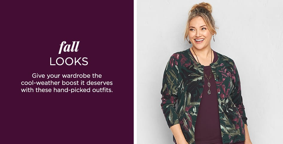Fall Looks: Give your wardrobe the cool-weather boost it deserves with these hand-picked outfits.