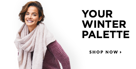 Your Winter Palette! Shop Now.